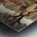 Martyrium des Saint Sebastian Metal print