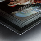 Ali Pasha and Kira Vassiliki by Paul Emil Jacobs Classical Fine Art Xzendor7 Old Masters Reproductions Metal print