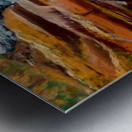 Carpatian cascade    Metal print