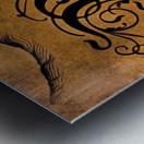 Beautiful Monogram Letter M Metal print