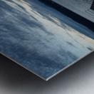 Dusky Dock on Champlain  Metal print