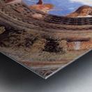 Mantegna Ceiling Oculus in the Camera degli Sposi, Mantova Metal print