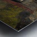 The sacred bridge in Nikko Metal print