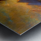 Pyramid scene Metal print