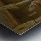 The coffee house Metal print
