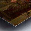 The red portfolio Metal print