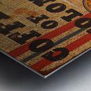 Colombian coffee vintage poster Metal print