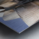 undulation Metal print