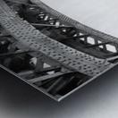 Under The Iron Bridge Metal print