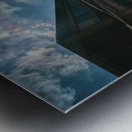 Meeting point Metal print