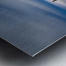 in BLUE Metal print