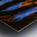 Blue Procession Metal print