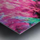 The Flock Pink Metal print