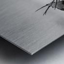 Oryx in the rain Metal print