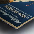 Holland - America Line vintage travel poster Metal print