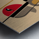 Bauhaus Nude Metal print