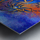 Dragissous V1 - blue dragon Metal print