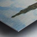 Singel in Amsterdam with the Jan Roodenpoortstoren Metal print