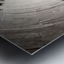 silo perspective Metal print