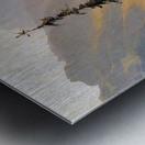 Lutschental with the Wetterhorn Sun Metal print