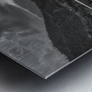 Monochrome Madness - Fewa Lake Metal print