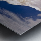 Aerial View Of Mountains, Annapurna Sanctuary, Nepal Metal print