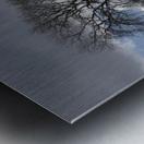 Snowy Field, Weardale, County Durham, England Metal print