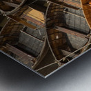Wooden Boats Metal print