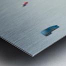 Kitesurfing; Tarifa, Cadiz, Andalusia, Spain Metal print