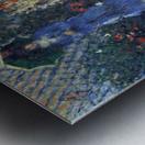 Gladiolas by Monet Metal print