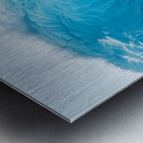 Beautiful Blue Ocean Wave Metal print