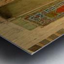 Carpet seller Metal print