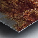 Wooded Landscape Metal print