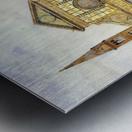 The main square Metal print