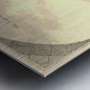 Kasteel Doorwerd 1744 Metal print