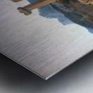 A caravan resting Metal print