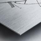 pocket pulpsnatch656 Metal print