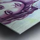bag_lady_print Metal print