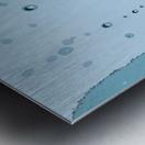 Raindrops 1  Metal print