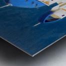 Memory of Santorini Metal print