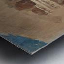 Ellora Metal print