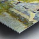 One Sunday on La Grande Jatte, draft by Seurat Metal print
