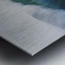 Hawaii, Oahu, Beautiful Wave Breaking. Metal print