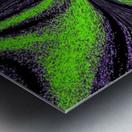 Green Butterfly 3 Metal print