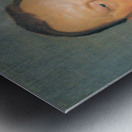 Portrait of Alfred Delisle by Felix Vallotton Metal print
