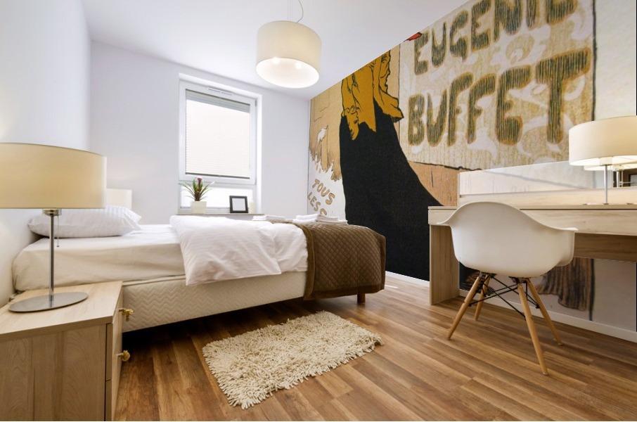 eugenie buffet ambassadeurs poster vintage poster canvas. Black Bedroom Furniture Sets. Home Design Ideas