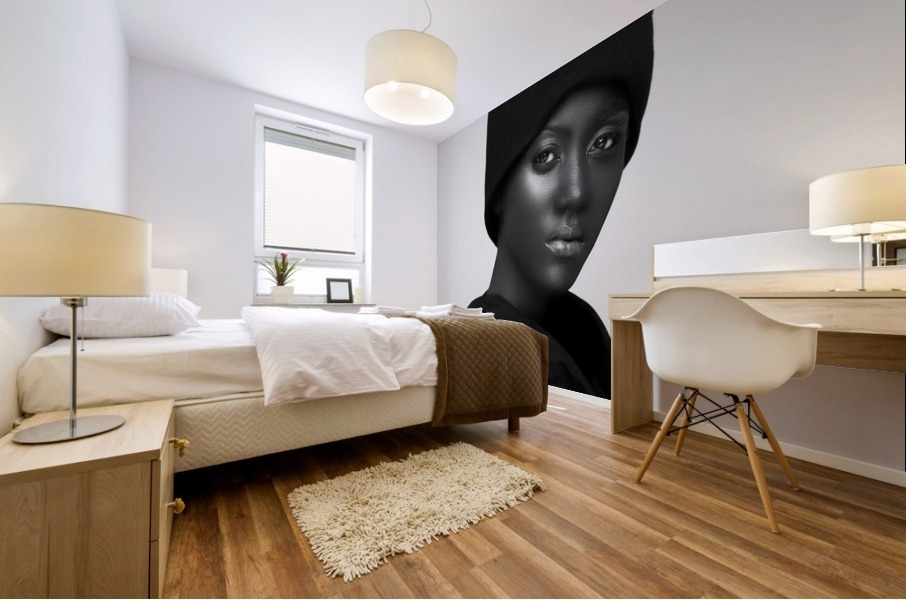 hat Mural print