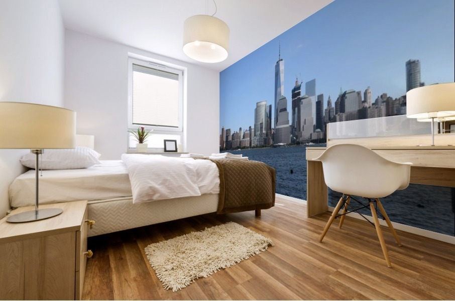 MANHATTAN, NEW YORK Mural print