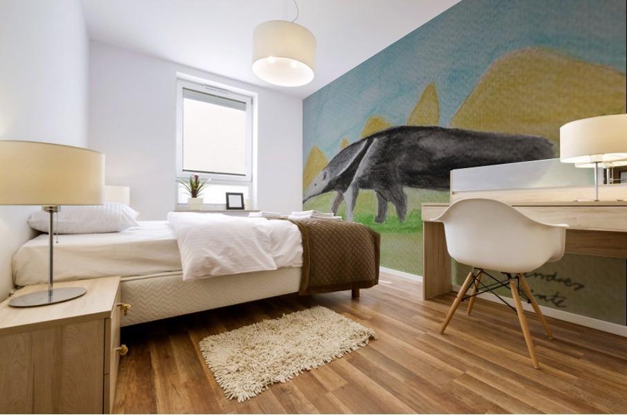 Anteater Mural print