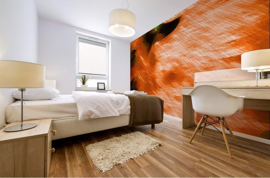 Büffeln Mural print